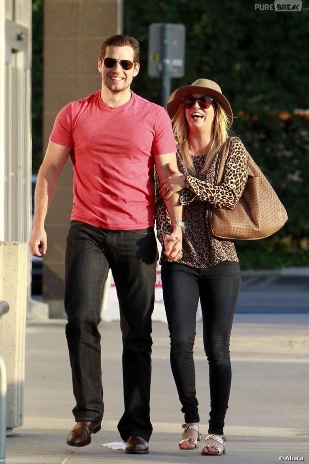 Henry Cavill a oublié Loïs Lane avec Kaley Cuoco, le 3 juillet 2013 à L.A