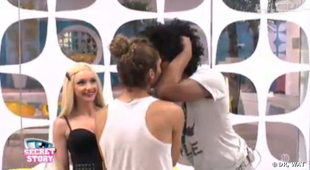 Secret Story 7 : le baiser entre Jamel et Eddy !