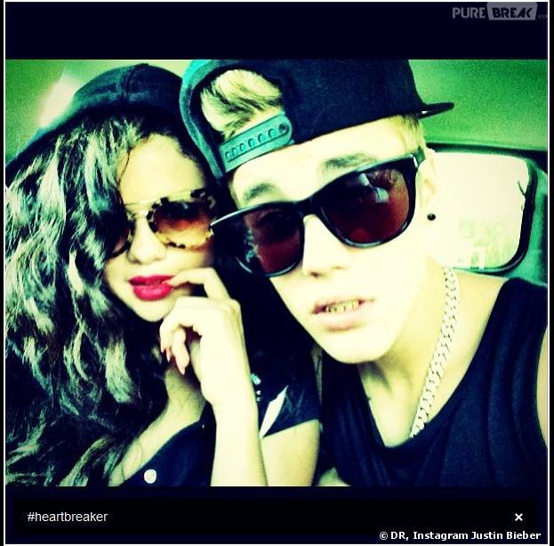 Selena Gomez et Justin Bieber sur Instagram, le 5 juillet 2013