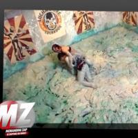 Alessandra Sublet : combat de boue sexy dans Fort Boyard pour l'animatrice de France 5