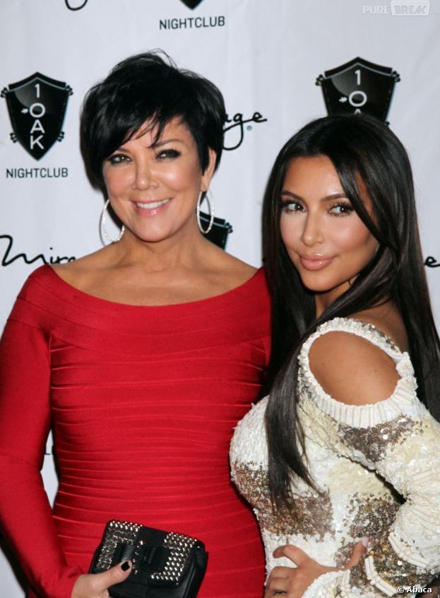 """Kim Kardashian : sa fille North """"invitée"""" de l'émission de Kris Jenner ?"""