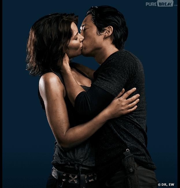 The Walking Dead saison 4 : avenir heureux pour Maggie et Glenn ?