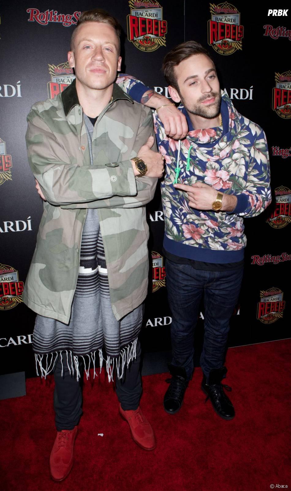 MTV Video Music Awards 2013 : Macklemore et Ryan Lewis nommés à 6 reprises