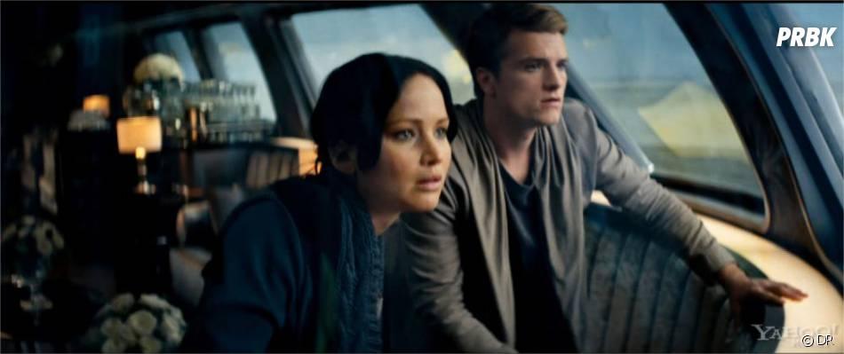 Hunger Games 2 : Katniss et Peeta pendant la tournée de la Victoire