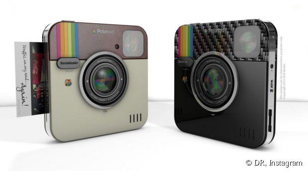 Instagram lance son propre appareil photo en partenariat avec Polaroid, le Socialmatic