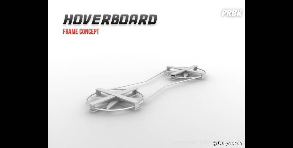 Le prototype d'hoverboard imaginé par la start-up Haltek Industries