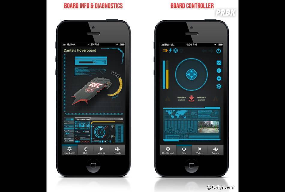 Le prototype d'hoverboard de la start-up Haltek Industries se contrôlera avec un smartphone