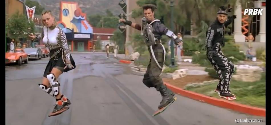 L'hoverboard a fait une première apparition dans le film Retour Vers le Futur 2