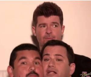 Blurred Lines version Jimmy Kimmel