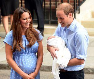 Kate Middleton et le Prince William : présentation du royal baby aux médias