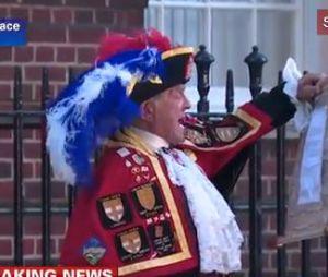 Un imposteur a annoncé la naissance du bébé royal de Kate Middleton et du Prince William.