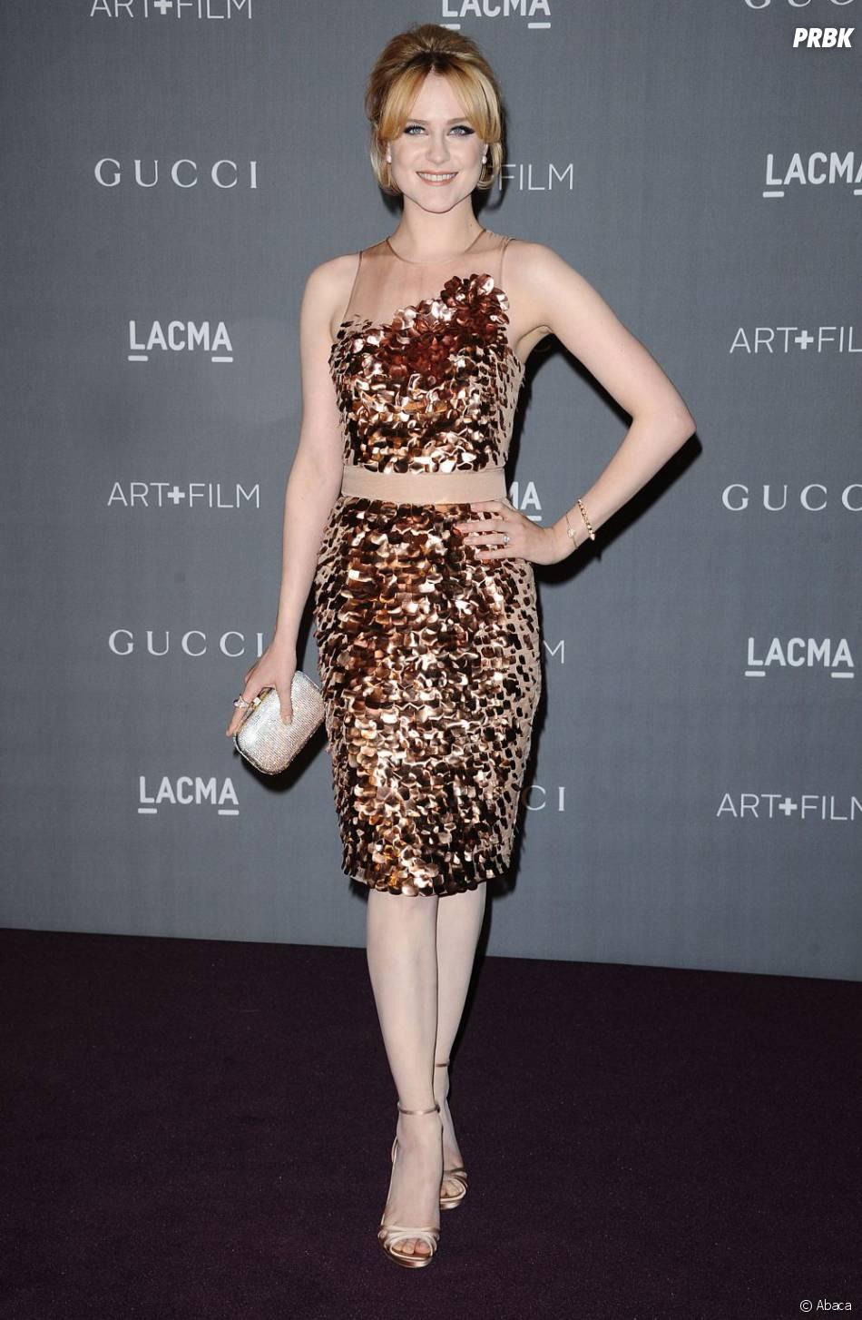 Evan Rachel Wood à Los Angeles, le 27 octobre 2012