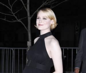 Evan Rachel Wood enceinte pendant le festival de Tribeca, le 16 avril 2013
