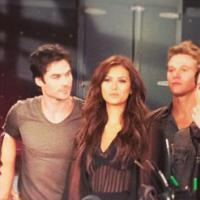 The Vampire Diaries saison 5 : dans les coulisses d'un photoshoot