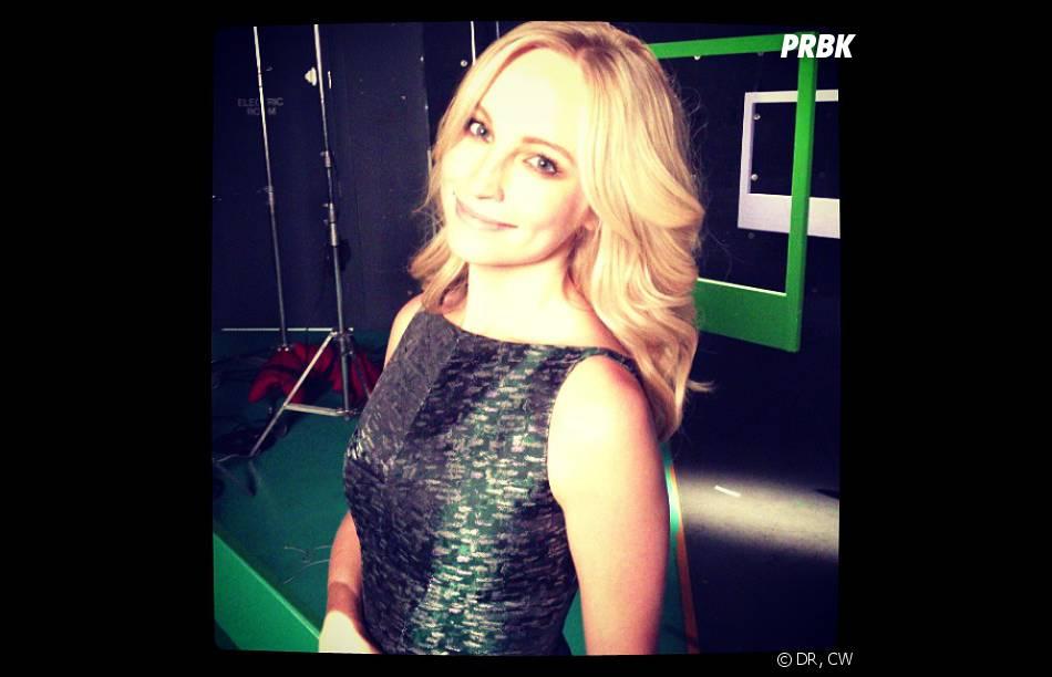 Vampire Diaries saison 5 : Candice Accola dans les coulisses d'un photoshoot