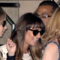 Lea Michele retrouve le sourire après la mort de Cory Monteith : sublime pour un samedi entre amies