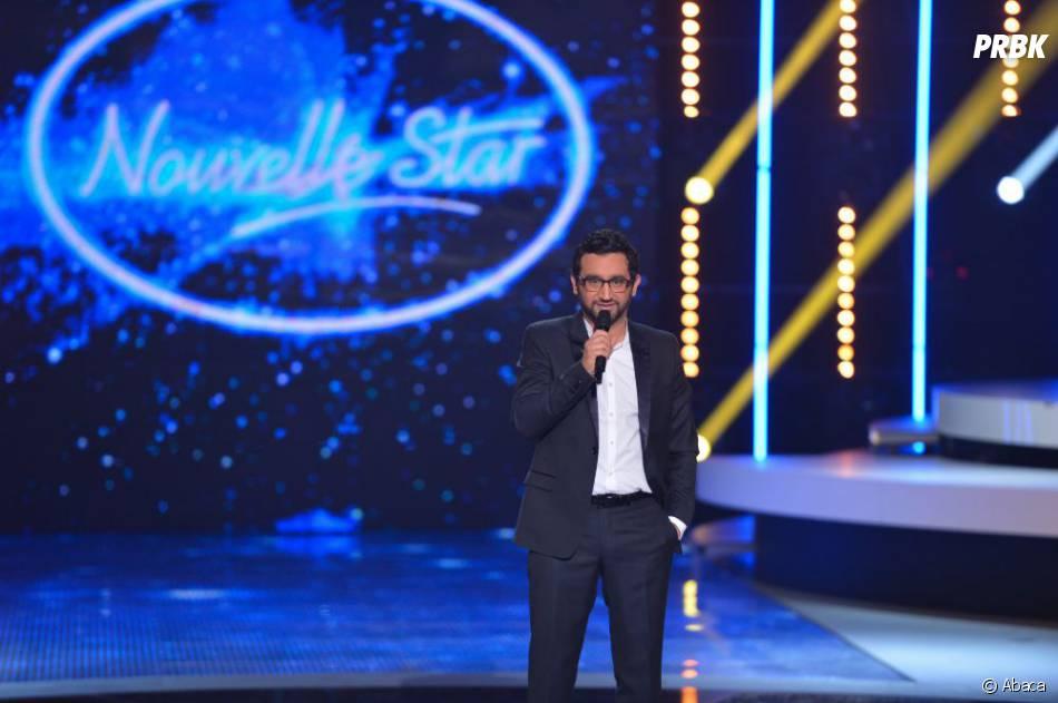 Cyril Hanouna sur le plateau de La Nouvelle Star 2012