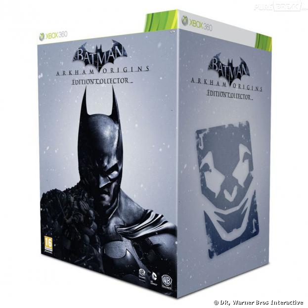 Batman Arkham Origins : la version collector sur Xbox 360