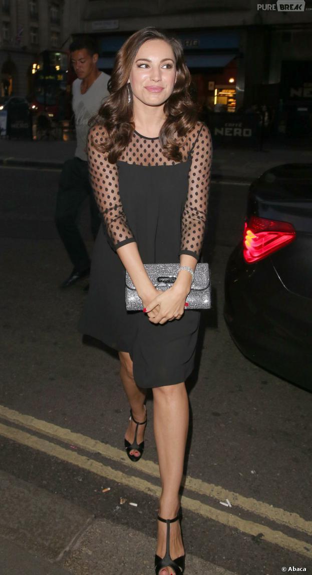 Kelly Brook à Londres le 10 août 2013