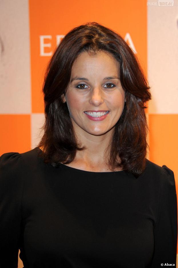 Faustine Bollaert a donné naissance à une petite Abbie, le 18 juillet 2013