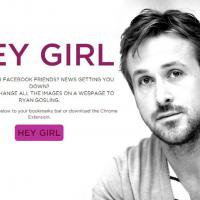 Ryan Gosling : Hey Girl, l'extension Google Chrome pour le voir partout sur le net