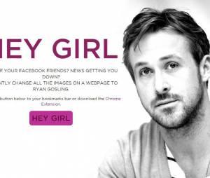Ryan Gosling : l'extension Google Chrome Hey Girl permet de le voir sur tous les sites