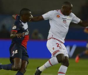 Blaise Matuidi en action pendant PSG VS Ajaccio, le 18 août 2013 au Parc des Princes