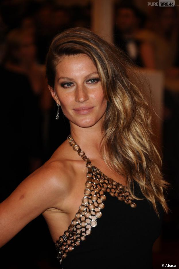 Gisele Bundchen dans le top 10 des mannequins les mieux payées en 2013 selon Forbes