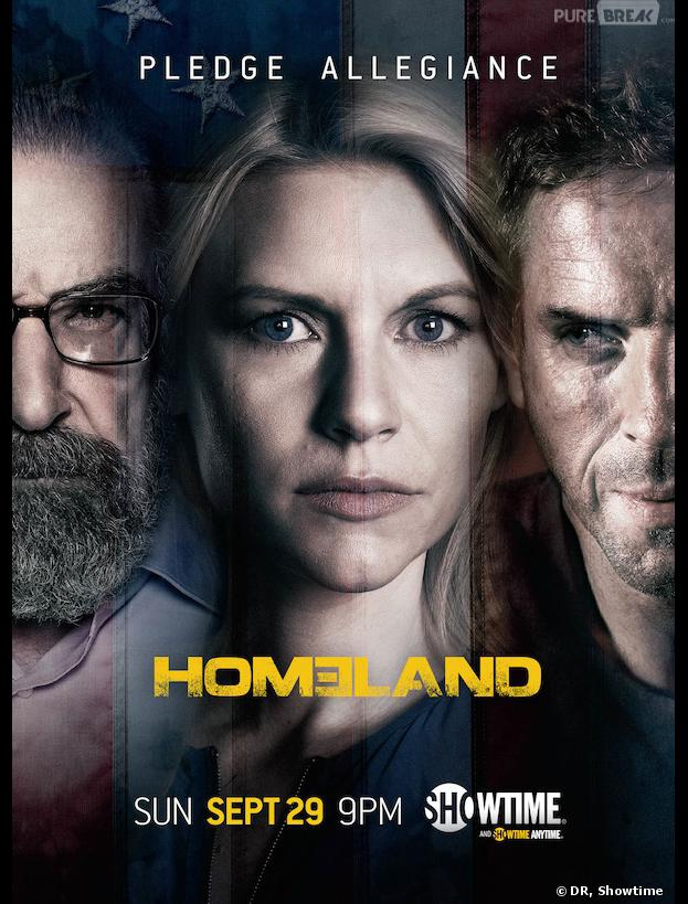Homeland saison 3 : Carrie tiraillée sur le premier poster