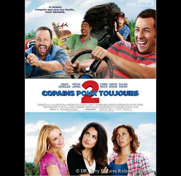""""""" Copains pour toujours 2 """", l'affiche"""