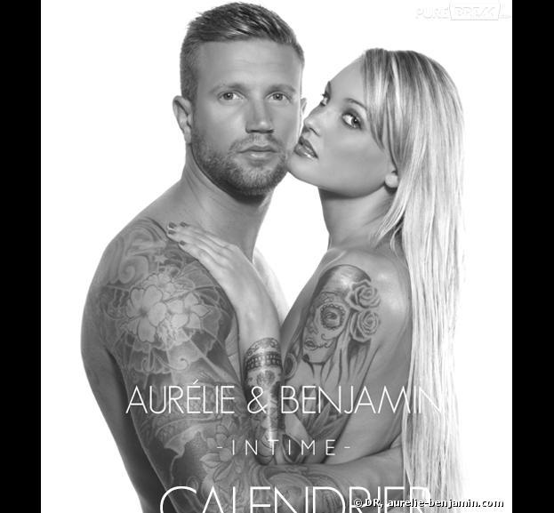 Les Anges de la télé-réalité 5 : Aurélie Dotremont et Benjamin nus pour un calendrier sexy.