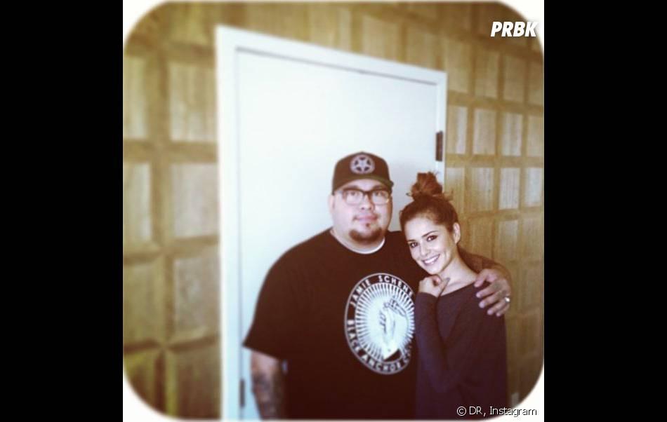 Cheryl Cole et son tatoueur Nikko Hurtado qui a dévoilé ses fesses sur Instagram.