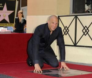 Vin Diesel : inauguration de son étoile sur le Walk of Fame