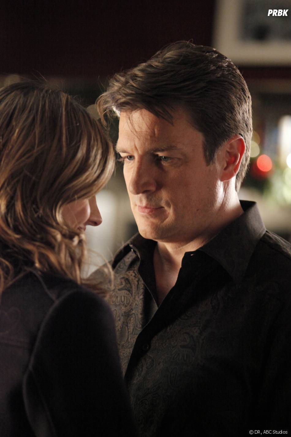 Castle saison 5 : Rick et Kate dans l'épisode de Noël