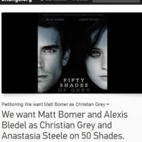 Fifty Shades Of Grey : des fans lancent une pétition contre le casting