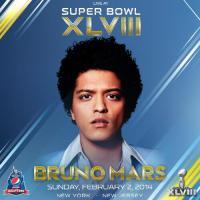 Bruno Mars pour succéder à Beyoncé au Super Bowl 2014 ?