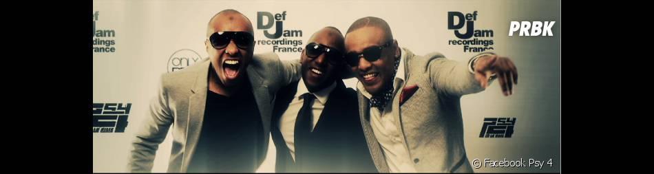 "Soprano, Vincenzo et Alonzo ont sorti leur nouvel album ""4e Dimension"" le 1er avril 2013"