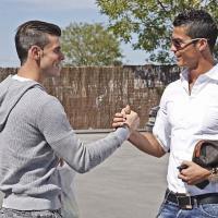 Cristiano Ronaldo et Gareth Bale : première photo pas du tout naturelle