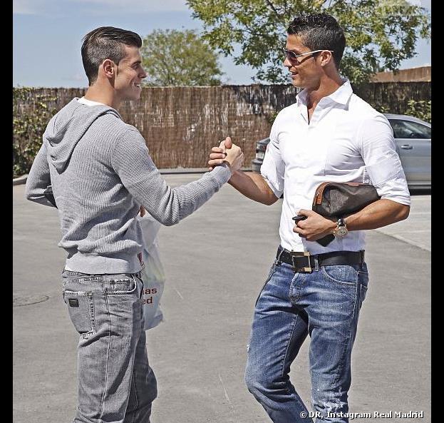 Gareth Bale et Cristiano Ronaldo : photo peu naturelle