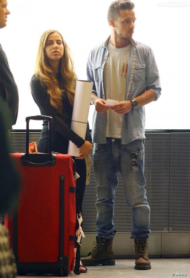 Liam Payne et Sophia Smith : zéro sourire à Nice, mercredi 11 septembre 2013