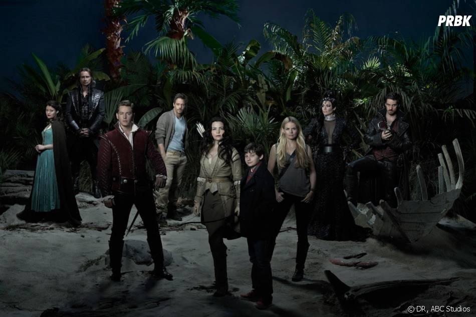 Once Upon a Time saison 3 : les acteurs sur une photo promo