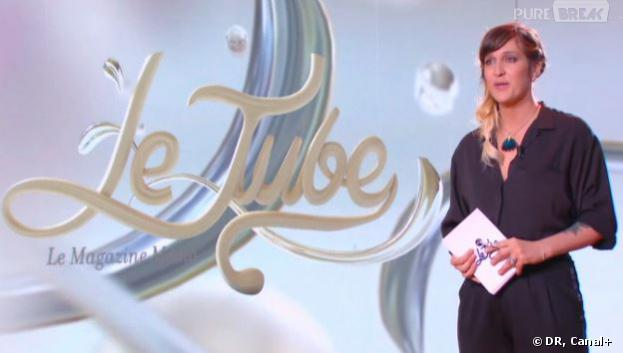 """Daphné Bürki présente """"Le Tube"""" : nouvelle émission médias sur Canal+"""