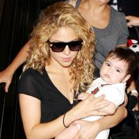 Shakira et Milan au Camp Nou pour encourager Gérard Piqué
