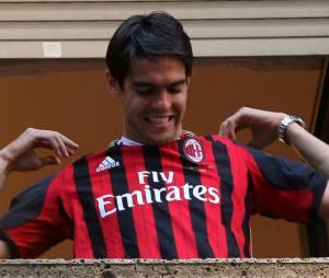 Kaka a quitté le Real Madrid pour le Milan AC pendant l'été 2013