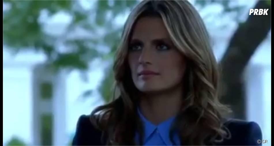 Castle saison 6, épisode 1 : Stana Katic dans un extrait