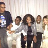 Kim Kardashian, Kanye West, P. Diddy et Oprah : petite soirée entre millionnaires