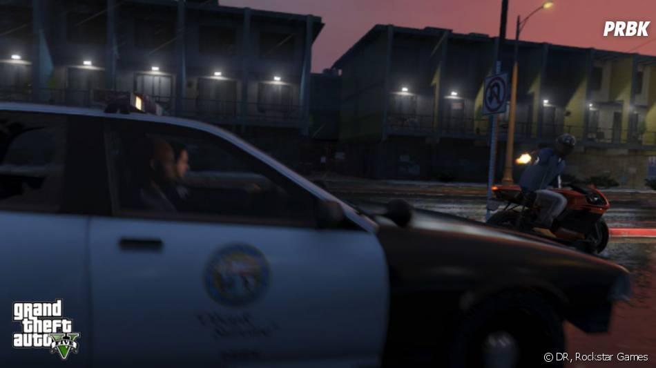 GTA 5 : les courses-poursuites en motos seront nombreuses