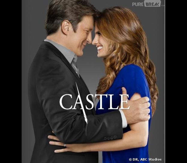 Castle saison 6 : un poster pour Rick et Kate