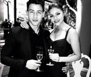 Nick Jonas et Olivia Culpo au XS Nightclub de Las Vegas