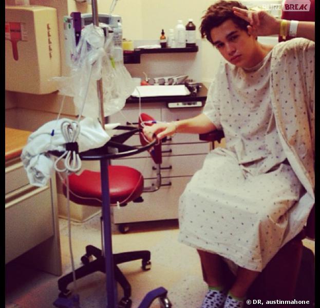 Austin Mahone transporté à l'hôpital